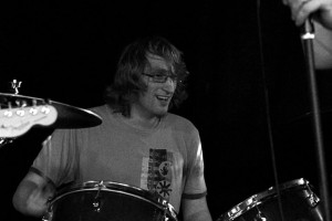 cheerful drummer